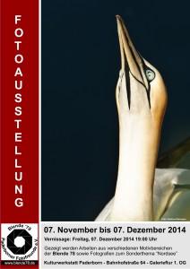 2014 - Blende 78 Jahresausstellung-Plakat-Web
